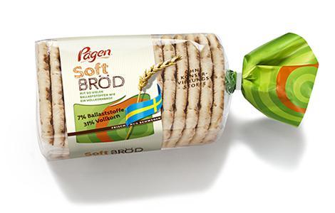 Das Original frisch aus Schweden: Pågen Soft Bröd überzeugt mit neuem Verpackungsdesign