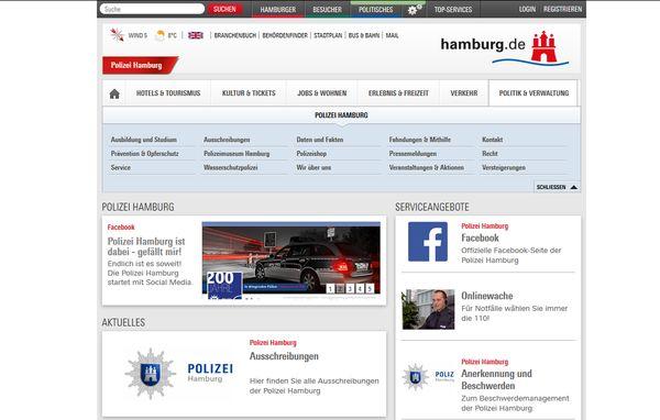 Die Hamburger Polizei bittet um ihre Mithilfe!