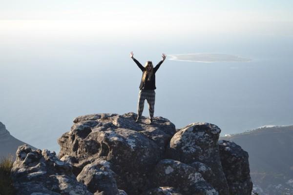 Miriam hat eine Menge gesehen in Südafrika - auch den berühmten Tafelberg