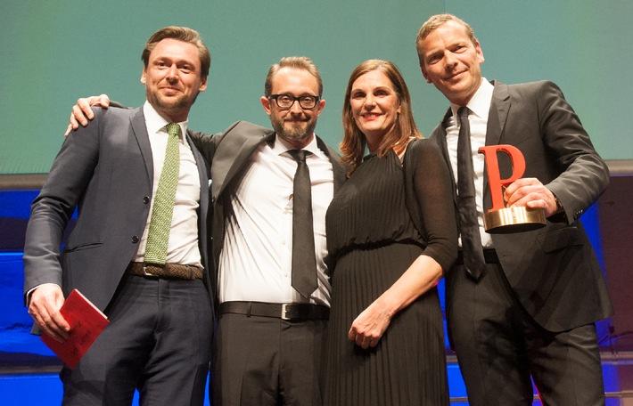 Der begehrte Branchenpreis wurde im Berliner Kraftwerk vor rund 500 anwesenden PR-Fachleuten und Unternehmenssprechern an achtung! übergeben