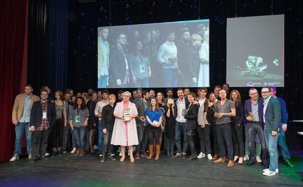 Im Hauptwettbewerb von Die Klappe für Werbeformate votete die 27 köpfige Experten Jury insgesamt 68 Filme auf die Shortlist