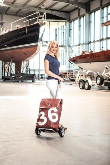 Sportliche Taschenroller von Andersen und 360°