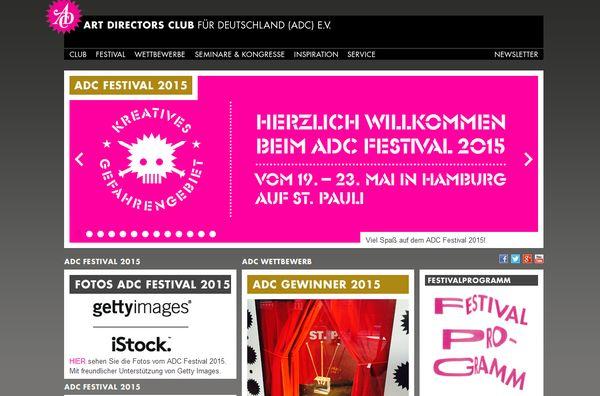 Art Directors Club Deutschland - Das ADC Festival vom 21. bis 23. Mai
