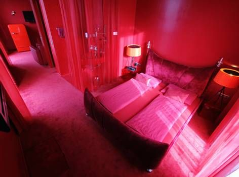 Red Room im Arcotel Rubin Hamburg