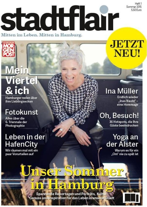 Aktuelles Stadtflair Cover mit Ina Müller