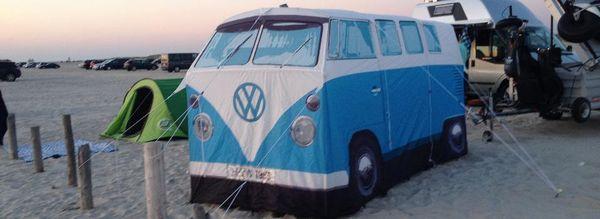 Metropole trifft Meer - Das Beachcamp Sankt Peter-Ording im September 2015