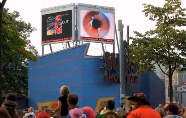 """""""Eyeball"""" des Hamburger Medienkünstlers Tankred Tabbert"""