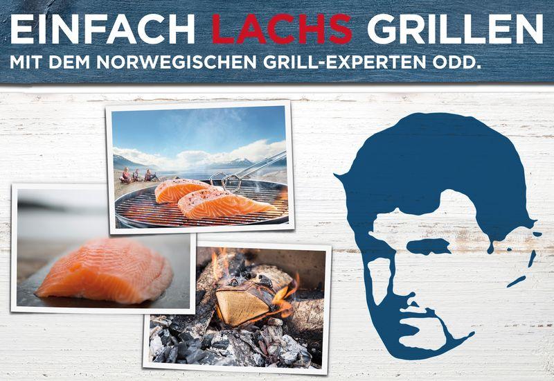 Grill-Ratgeber aus Norwegen: Einfach Lachs grillen