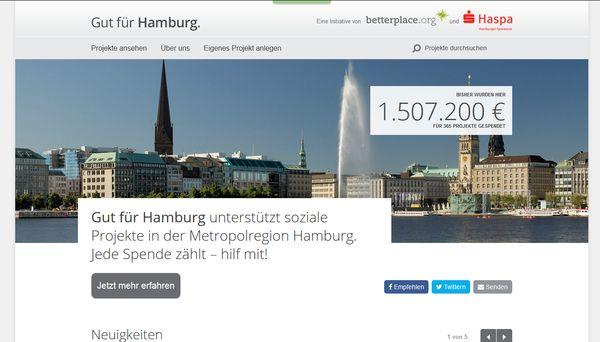 Hamburg hilft Hamburgern!