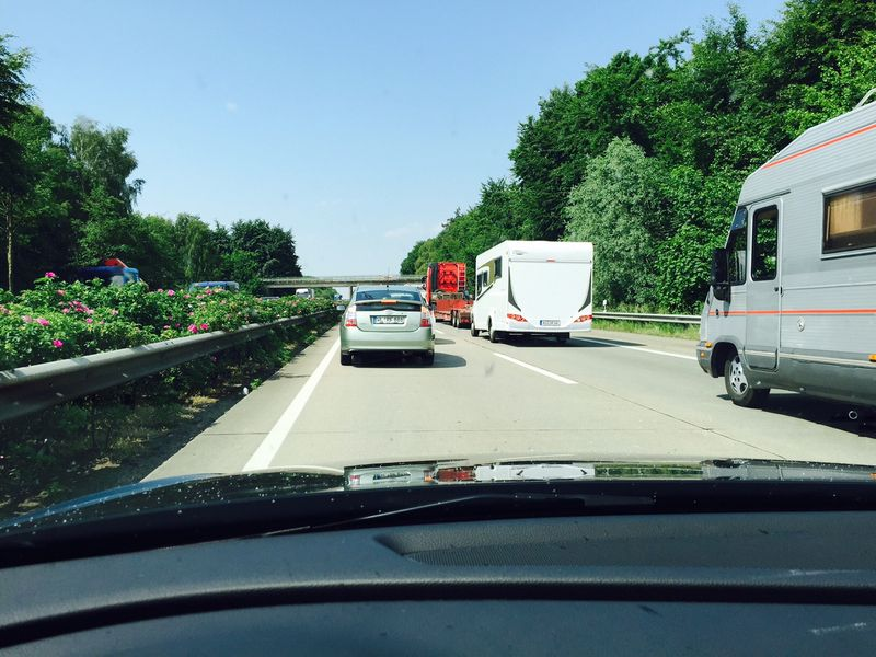 Verkehrschaos: Vollsperrung der A7 am kommenden Wochenende