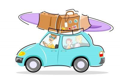 Viele verreisen mit dem Auto in die Sommerferien