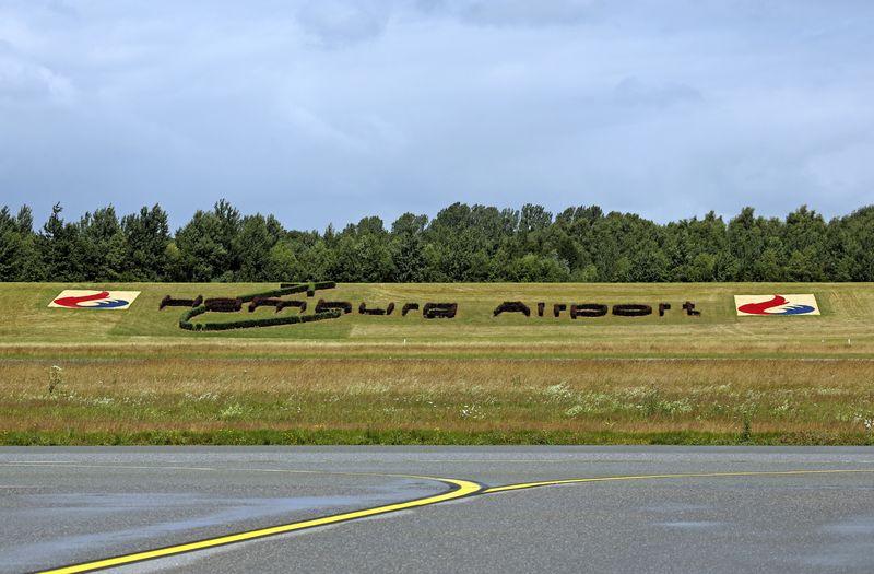 Hamburg Airport: Olympiabegeisterung direkt an der Start- und Landebahn