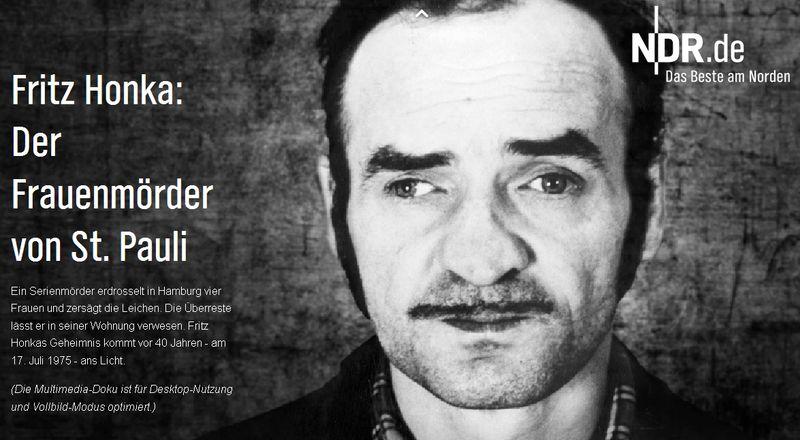 Fritz Honka: Der schlimmste Serienmörder Hamburgs