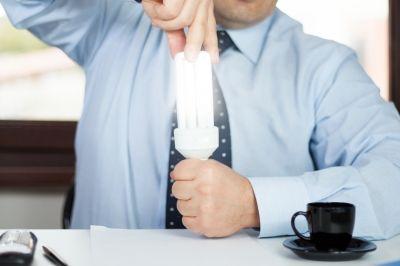 Auch in den Büros lässt sich einiges an Energie einsparen