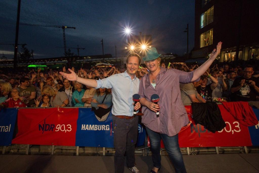 Christian Buhk und Anke Harnack bei der Sommertour