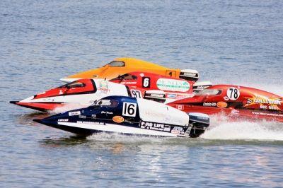 Rennen auf dem Wasser: Ein sehr gefährlicher Sport
