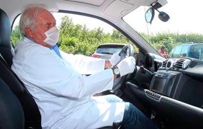 Bakterien und Schimmelpilze in Carsharing-Autos
