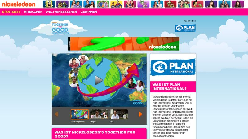"Kinderhilfe: ""Together For Good"""