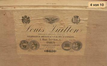 Louis Vuitton Trunk Produktionsetikett