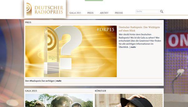 Verleihung des Radiopreises in Hamburg