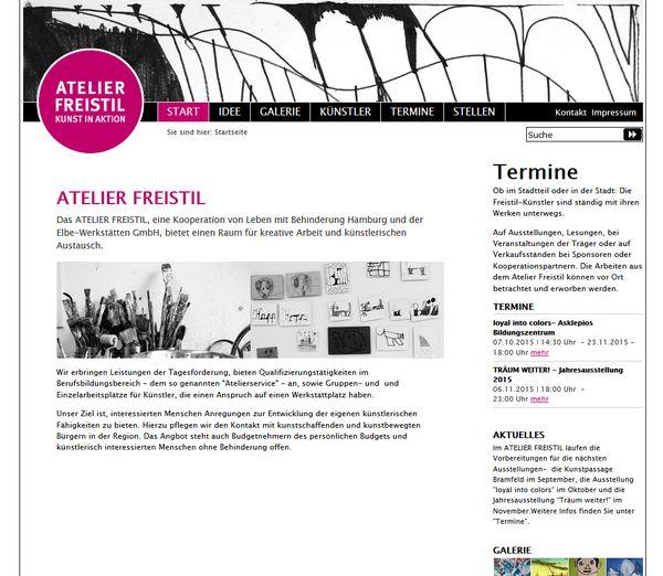 Atelier Freistil in Hamburg
