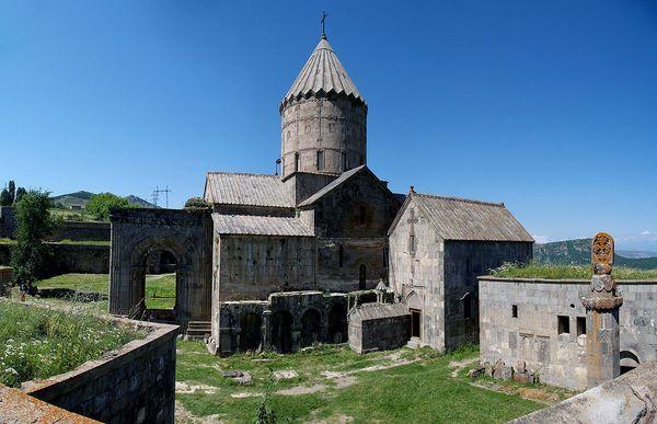 Das mittelalterliche alte Kloster Tatev