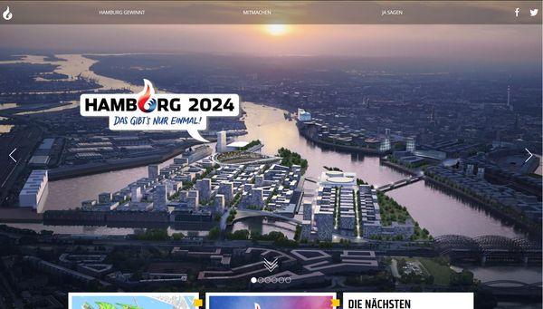 Hamburg ist Feuer & Flamme für Olympia