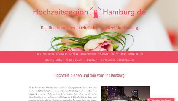Hochzeit planen und heiraten in Hamburg