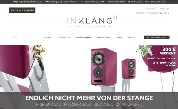 Lautsprechermanufaktur aus Hamburg