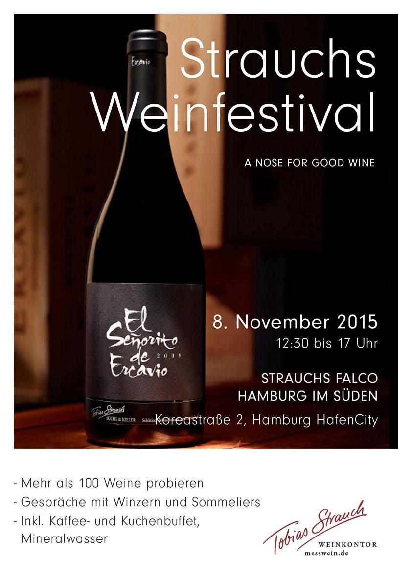 Strauchs Weinfestival in Hamburgs Hafencity