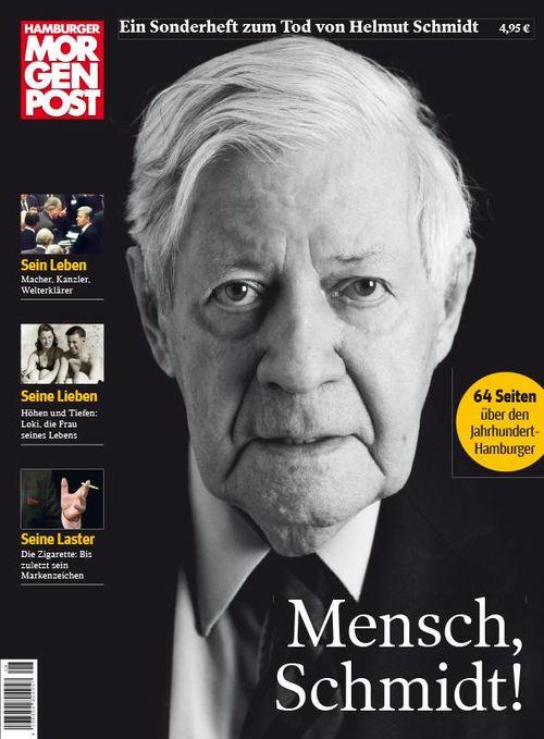 Cover der Sonderausgabe zum Tod von Helmut Schmidt