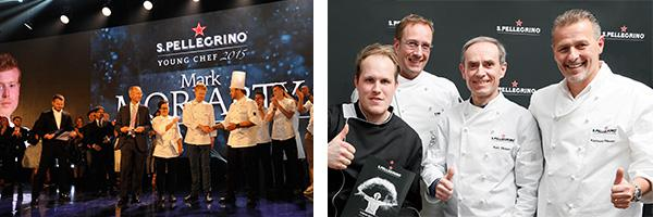 Internationale Spitzenköche in der Jury: David Higgs, Carlo Cracco, Gaggan Anand, Elena Arzak, Mauro Colagreco, Wylie Dufresne und Roberta Sudbrack