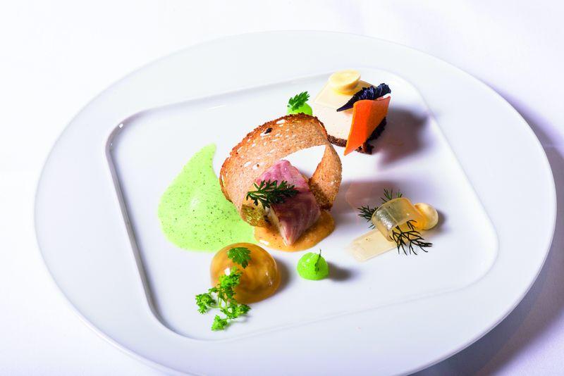 Hafencity-Menü im Restaurant Strauchs Falco