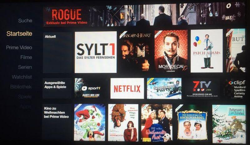 Sylt1 bei Amazon Fire-TV