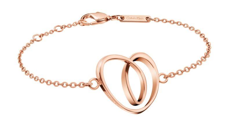 Calvin Klein warm, roségold, PVD Armband