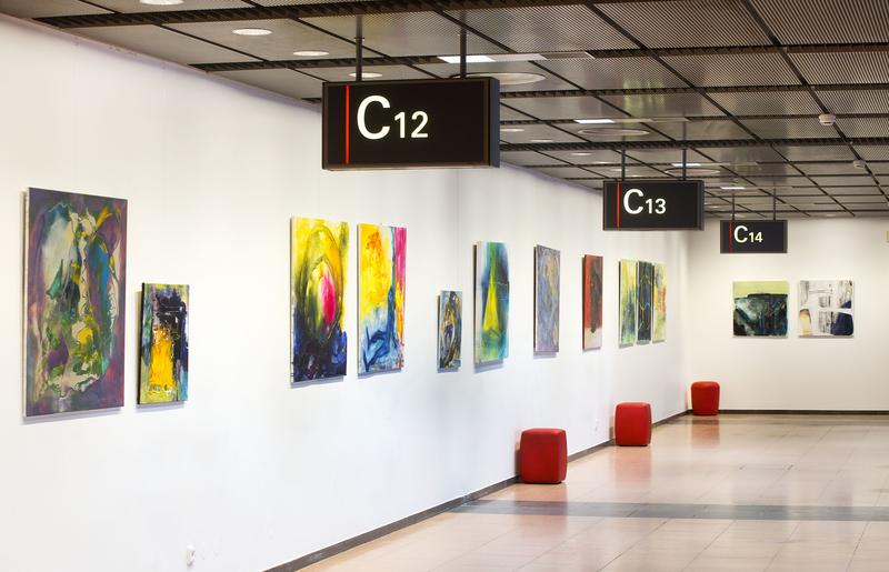 Airport: Wartebereich bietet ab sofort Kunst am Gate