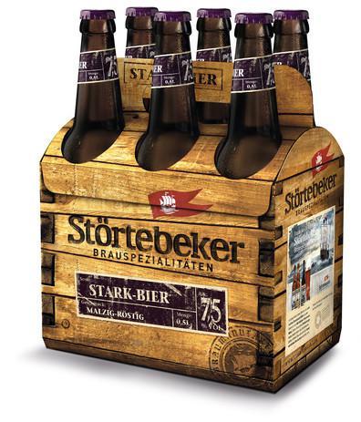 Stark-Bier der Störtebeker Braumanufaktur