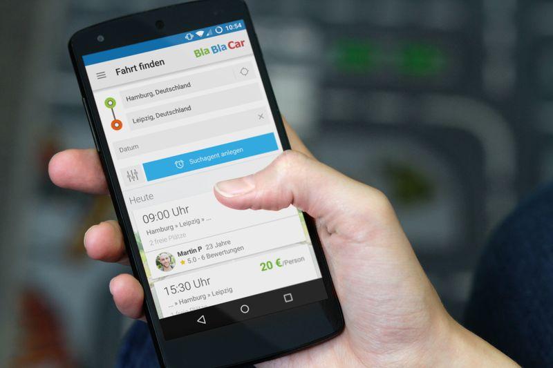 Mitfahr-Plattform BlaBlaCar lässt online zahlen