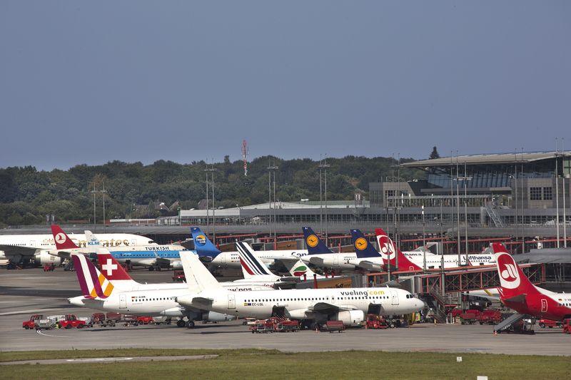 Hamburg Airport: Zahl der Starts und Landungen stieg geringer als Passagierzahl