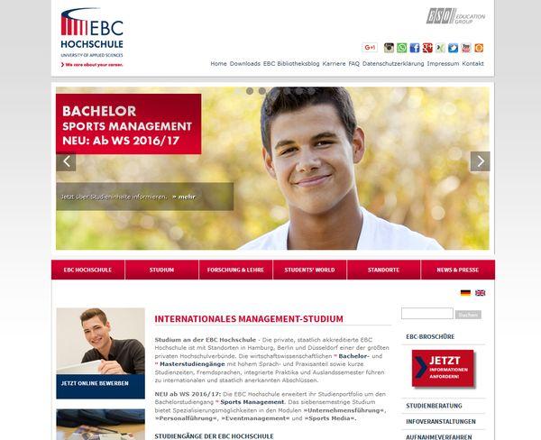 Die Ebc Hochschule Hamburg verfügt über beste Kontakte nach China