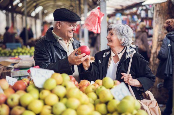 Frisch auf den Tisch - ein Besuch auf dem Markt lohnt sich!