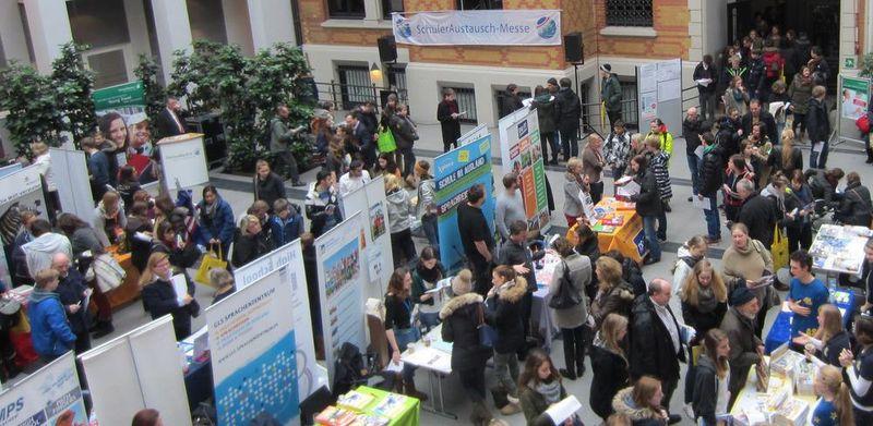 Großes Interesse an der SchülerAustausch-Messe