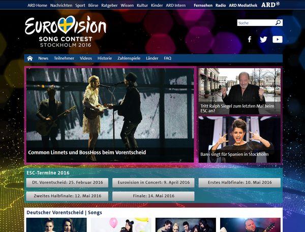 Unser Song für Schweden - Eurovison 2106 in Stockholm
