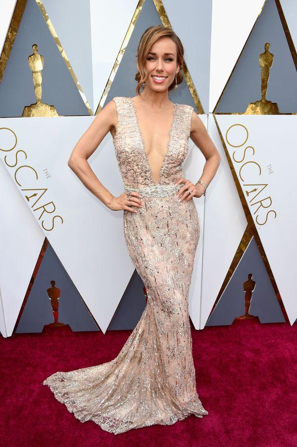 Annemarie Carpendale mit Haute Couture Marke bei den Oscars