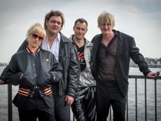 Die Magical Mystery-Crew Annika Meier, Charly Hübner, Marc Hosemann, Detlev Buck