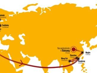 Geklautes Navi reist in 71 Tagen von Hamburg nach China - mit GPS-Peilsender auf den Spuren der Navi-Mafia