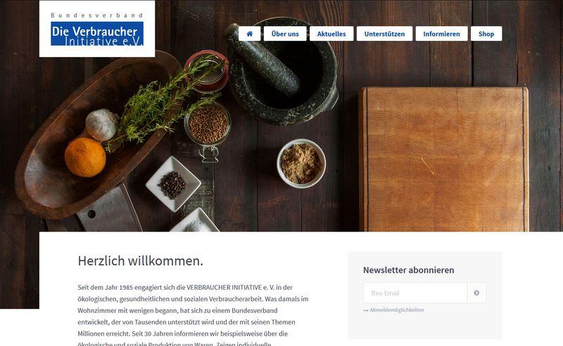 Mensch Deine Umwelt - die Verbraucher Initiative in Berlin
