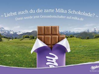 """Unter dem Aufruf """"Werde Milka Genussbotschafter"""" startet Milka ein umfassendes Aktivierungsprogramm zur neuen Markensignatur """"Milka - Im Herzen zart"""""""