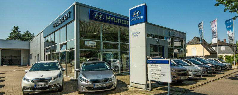 Päsler: Hyundai und Peugeot Autohaus Hamburg