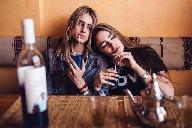 Blau von blauem Wein